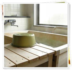 ひかわの檜風呂