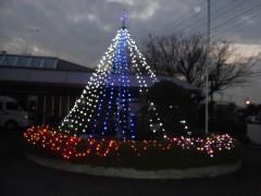 クリスマス外イルミ